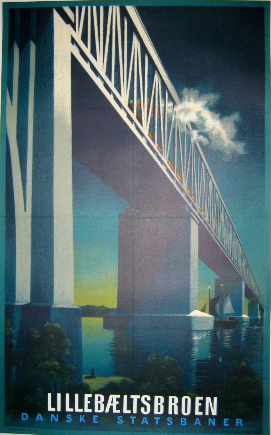 Little Belt Bridge Danish State Railways