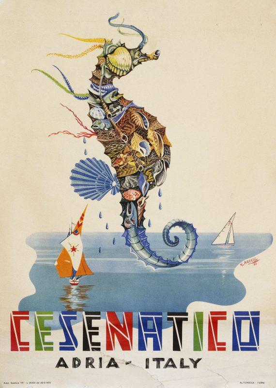 poster for Cesenatico Italy