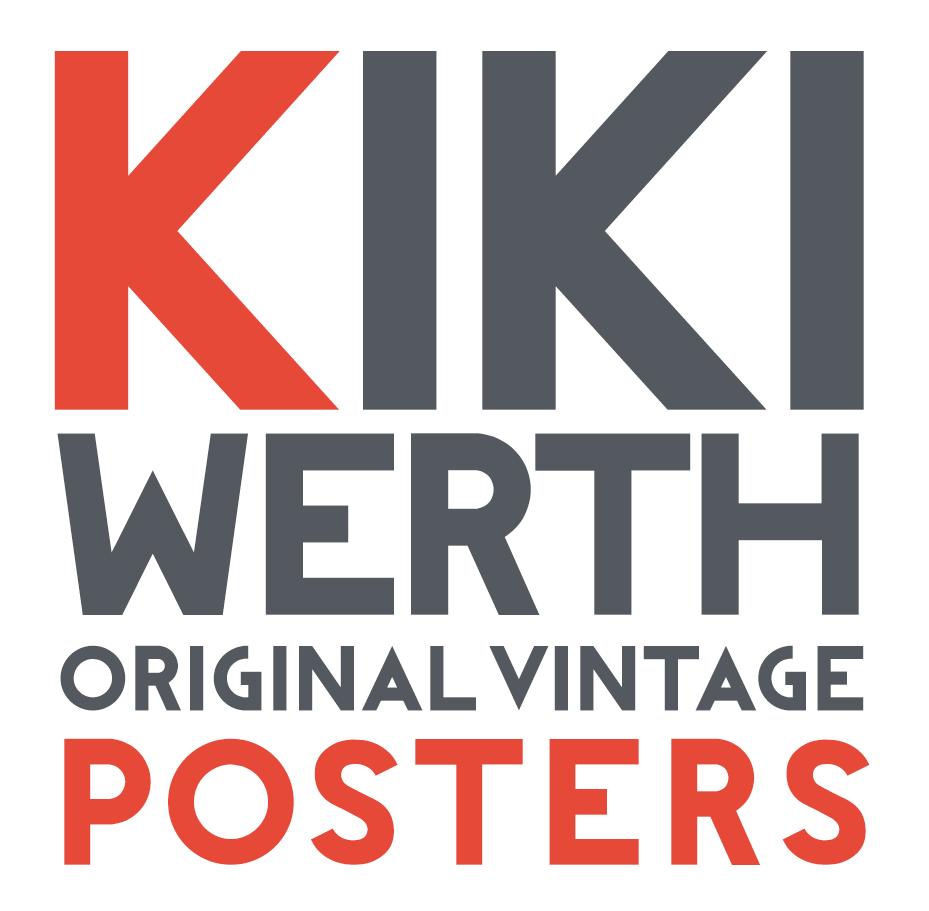 Kiki Werth Original Vintage Posters