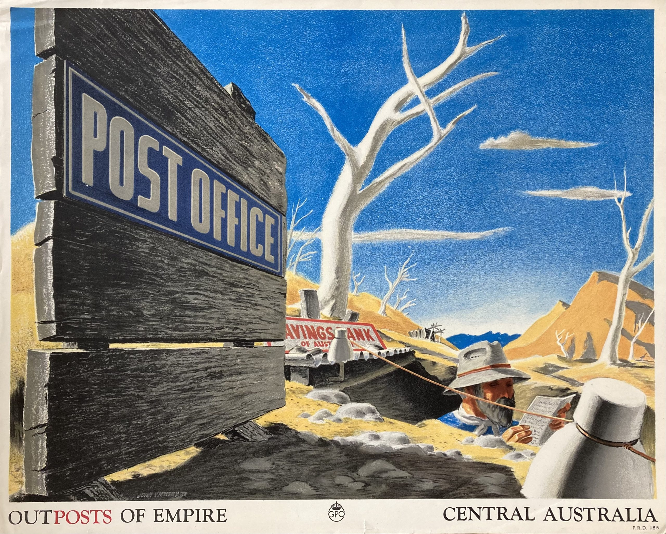 Central Australia poster