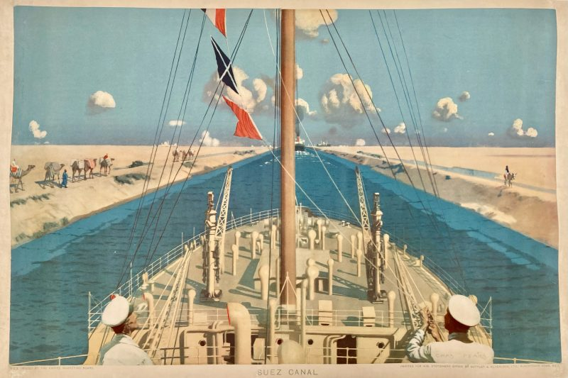 poster Suez Canal for EMB series