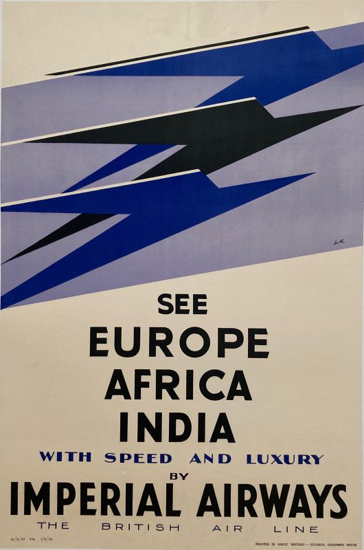 Poster for Imperial Airways