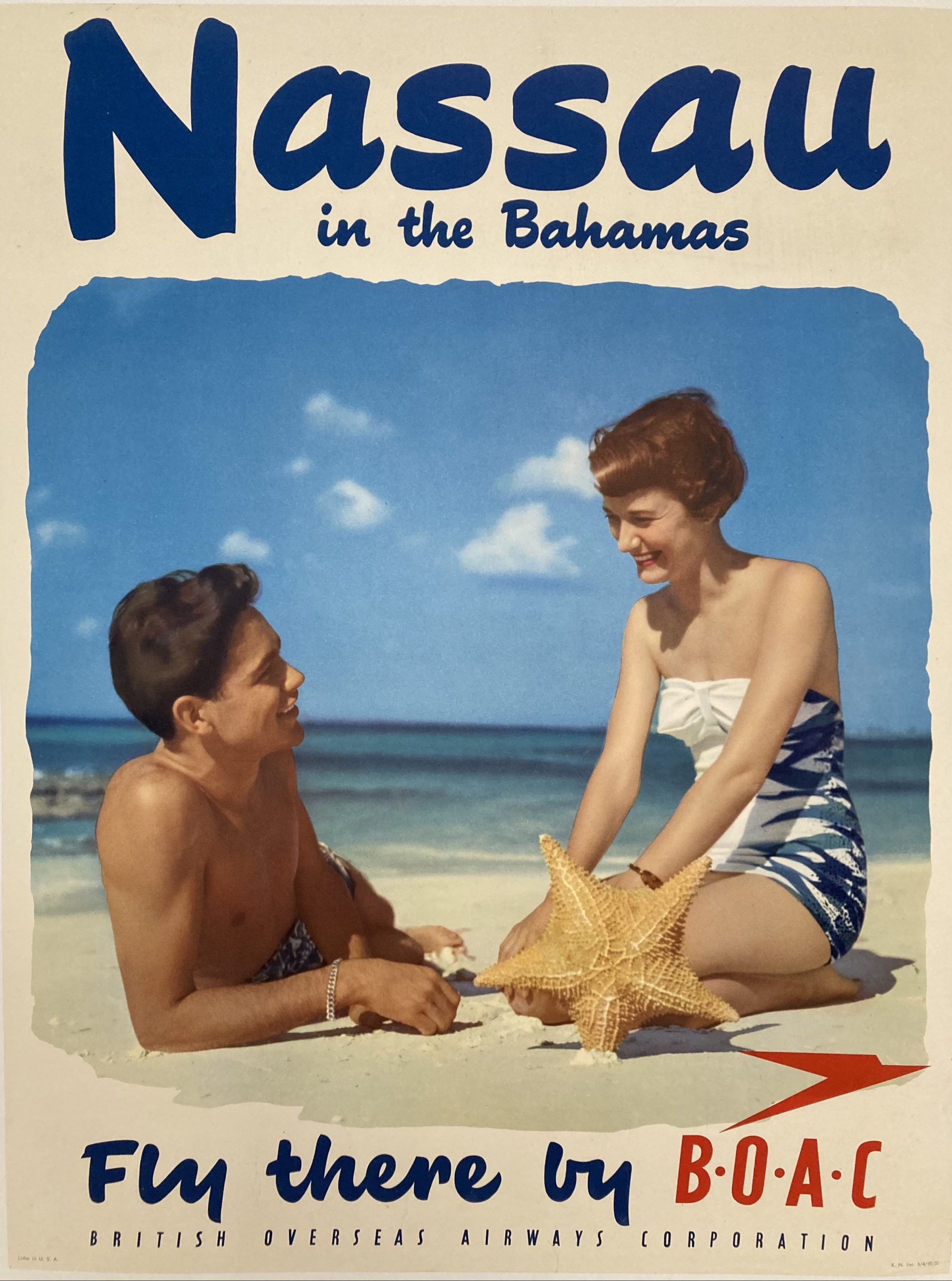 Fly to Nassau by BOAC