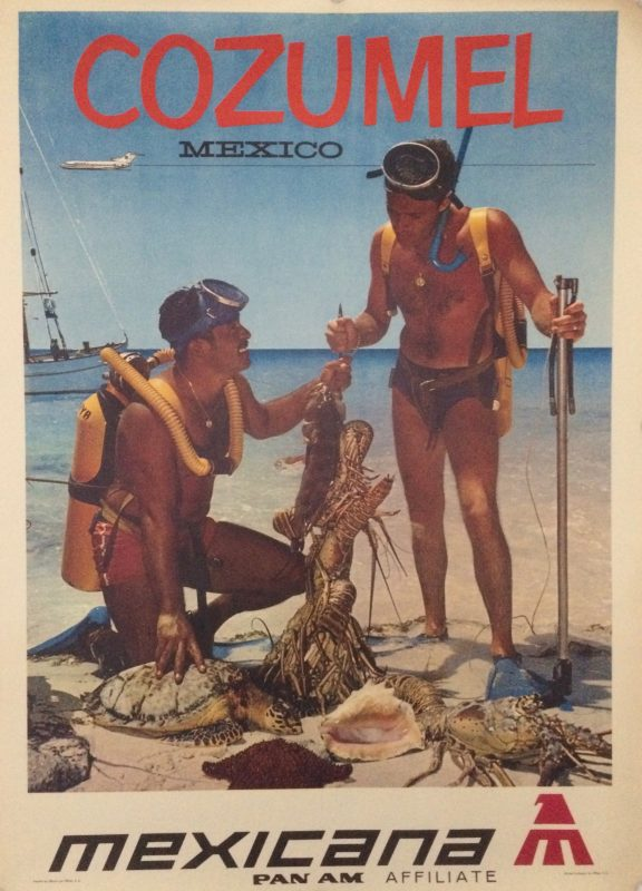 Poster for Travel to Cozumel Mexico