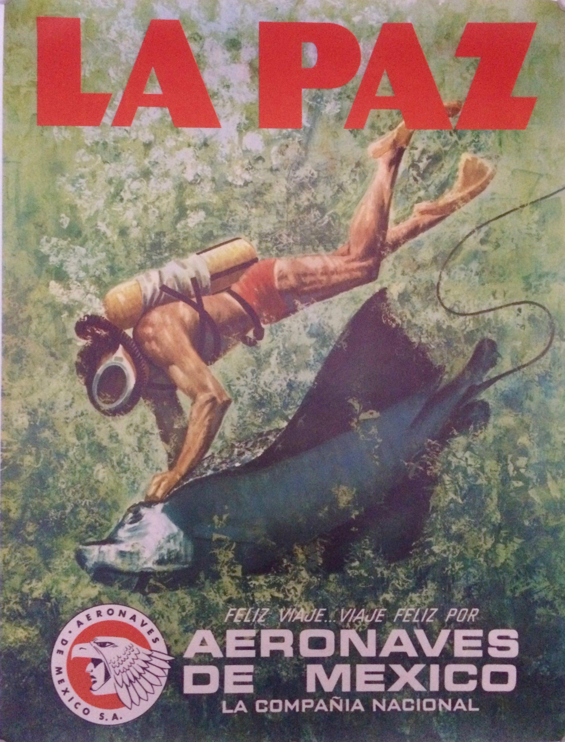 Travel to La Paz with Aeronaves de Mexicoes
