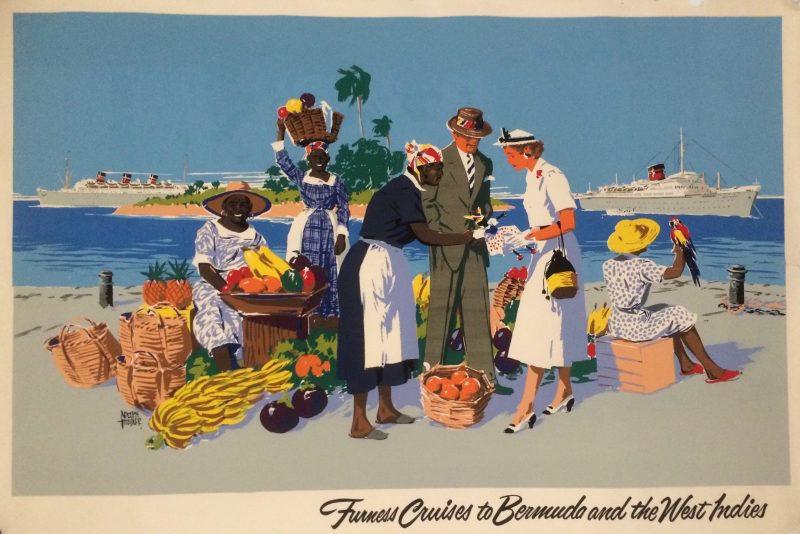 Furness lines cruises to Bermuda and the Caribbean