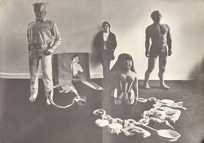 Jann Haworth exhibition at Robert Fraser Gallery