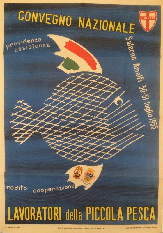 italian advertising poster