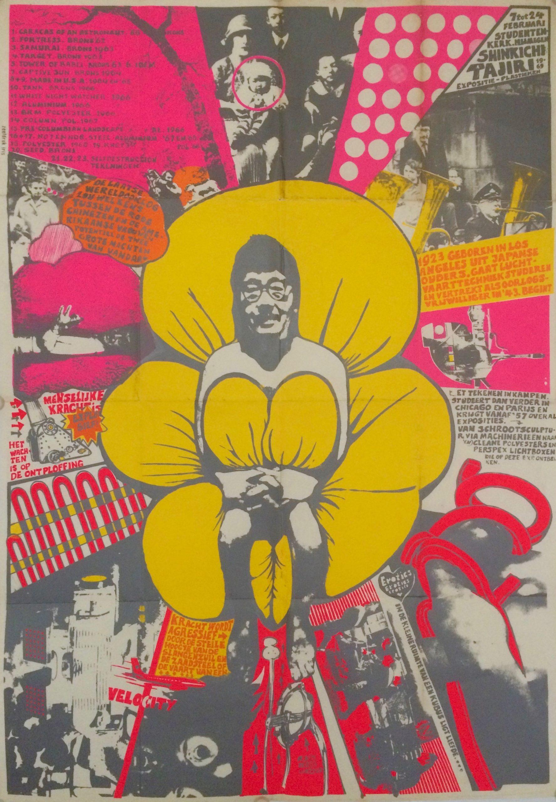 Exhibition Shinkichi Tajiri 1969