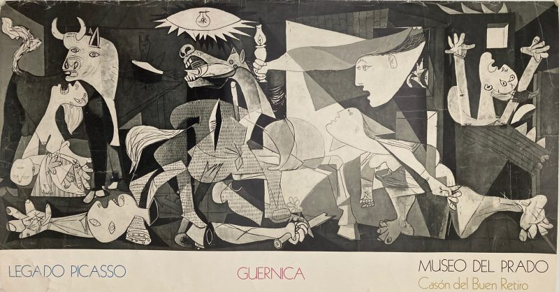 Exhibition at Prado Madrid, Guernica
