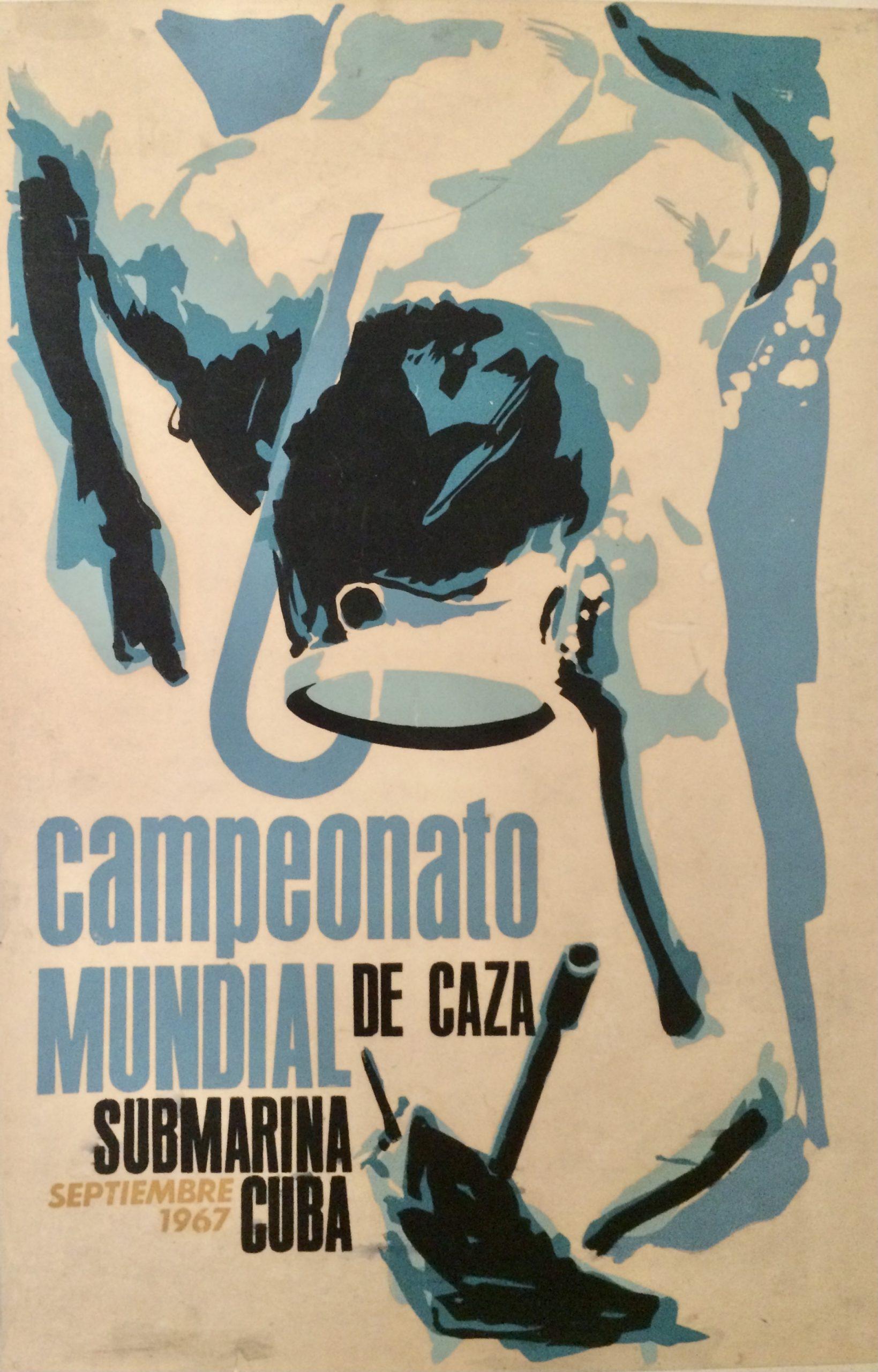 diving competition cuba 1967
