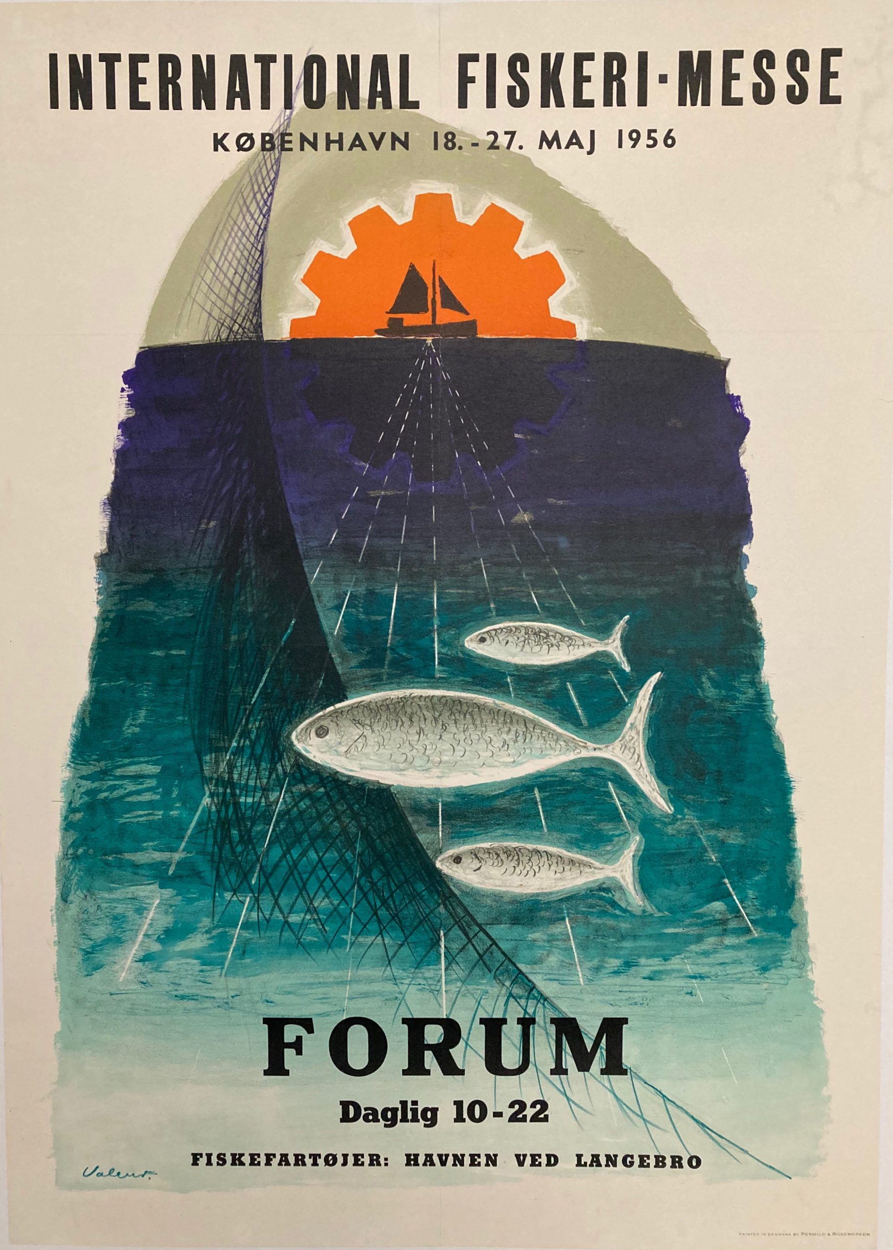 poster for International Fishing Fair