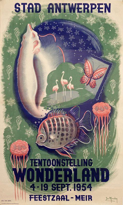 poster for Stad Antwerpen Wonderland