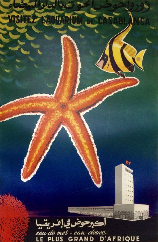 Aquarium de Casablanca poster