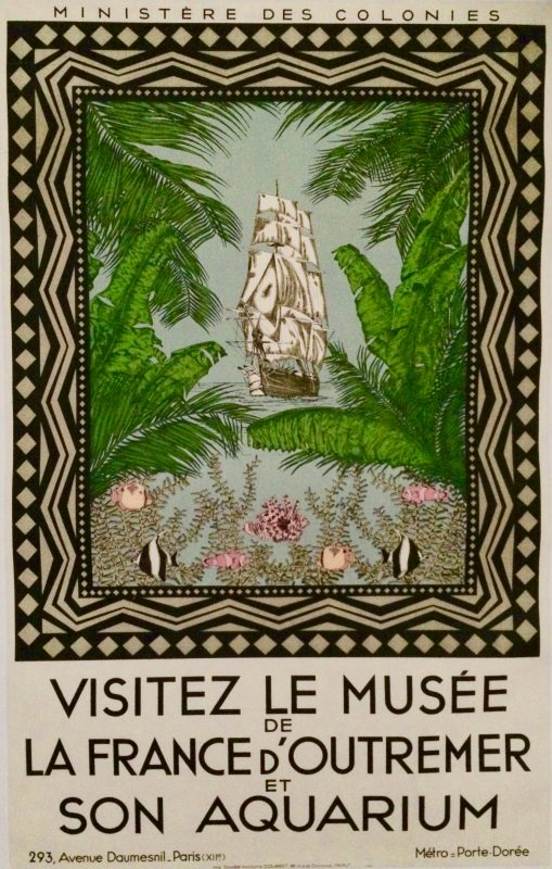 musée de la france d'outremer poster