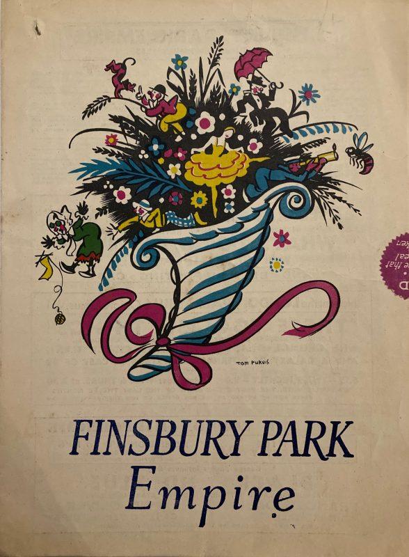 Finsbury Park Empire theatre brochure