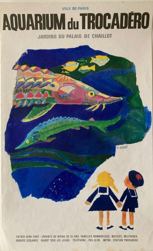 aquarium de trocadéro poster