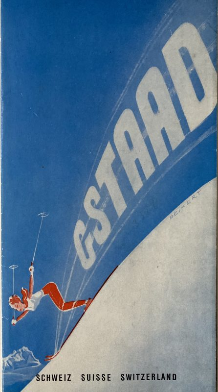 travel brochure for Gstaad
