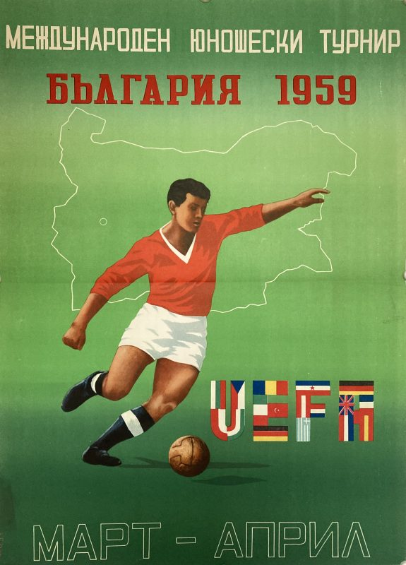 Poster for UEFA Football tournament