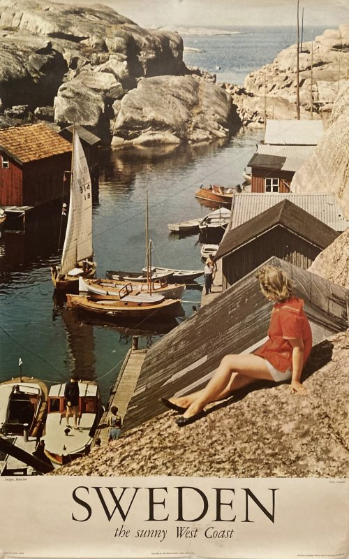 Sweden tourist board poster