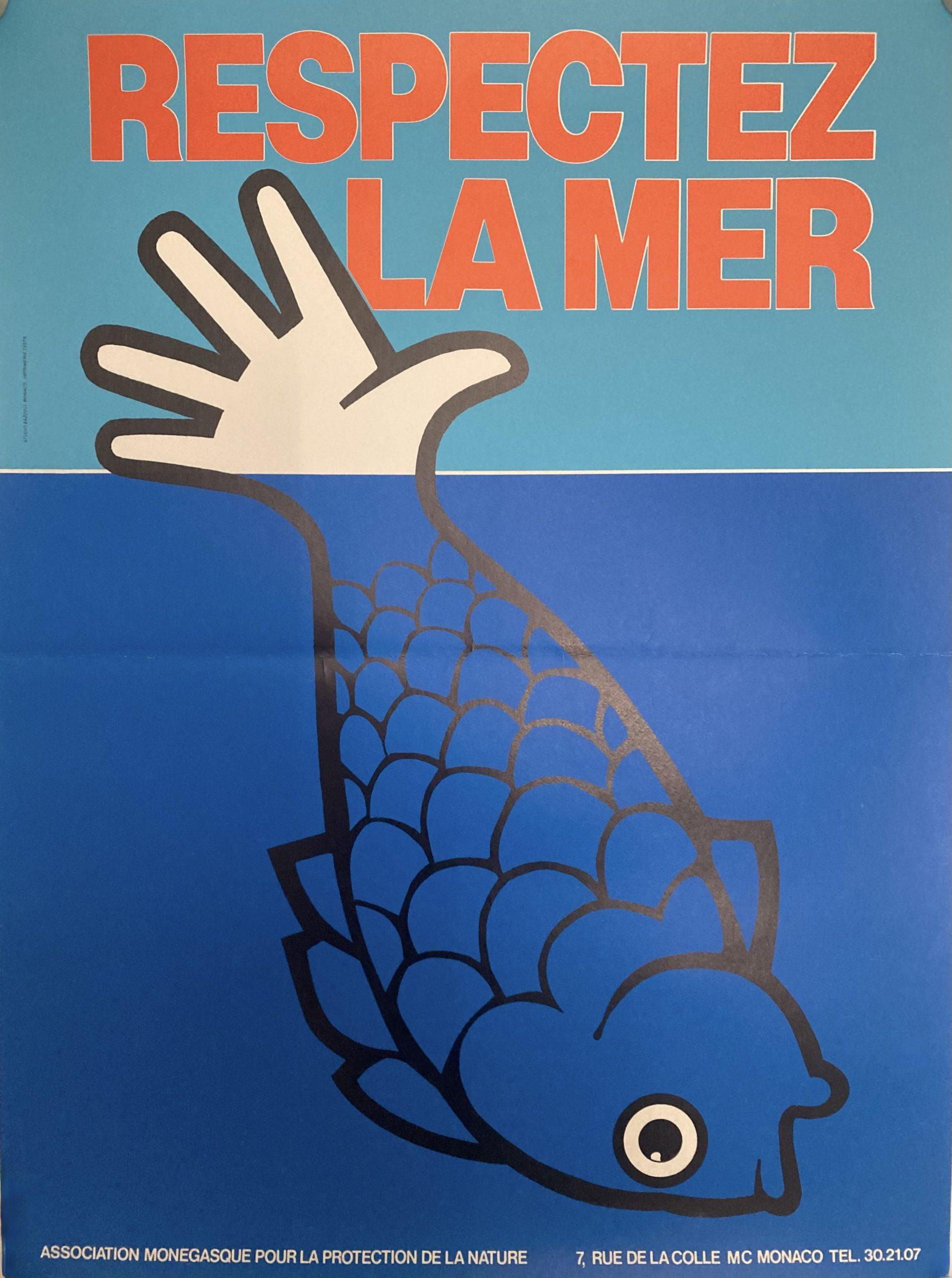 poster for respectez la mer