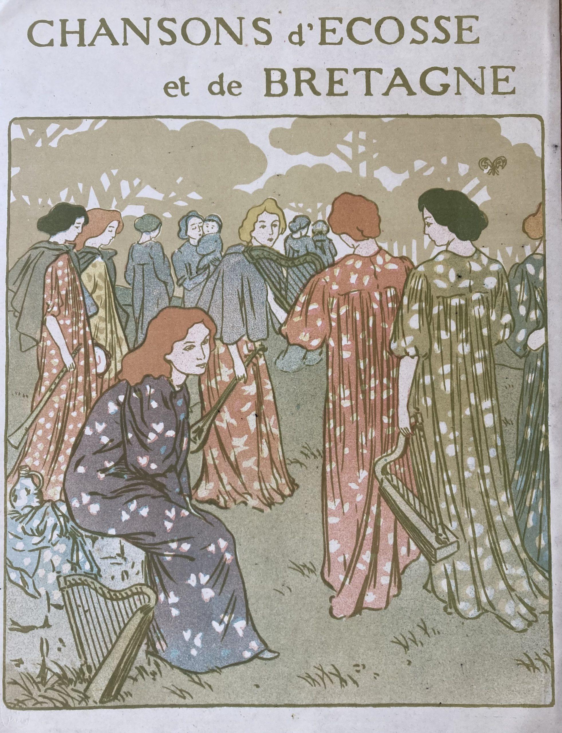 poster for chansons d'ecosse et de bretagne