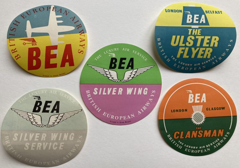 luggage labels for BEA