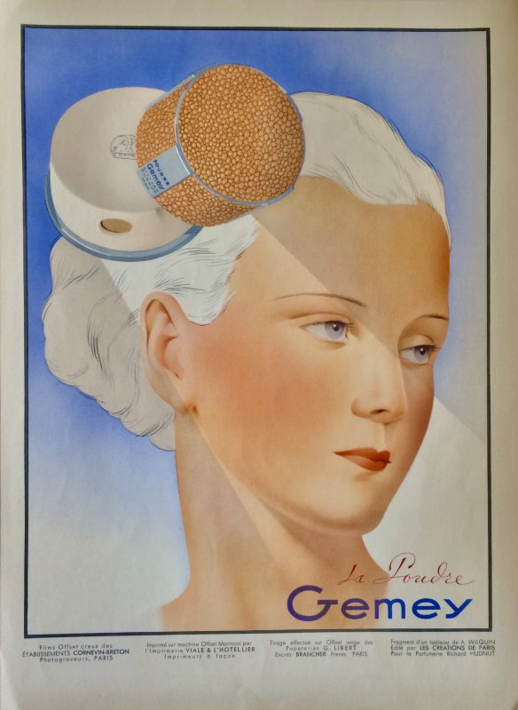 Advertising for La Poudre Gemey