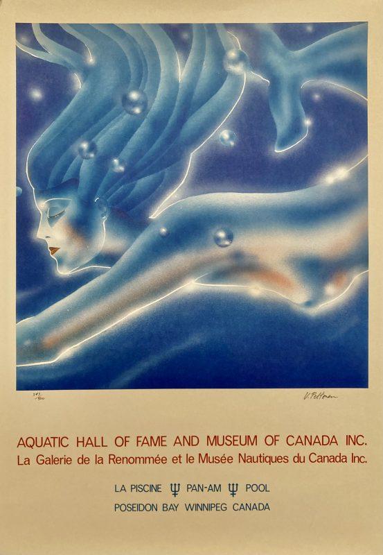 Aquatic Hall of Fame Canada poster